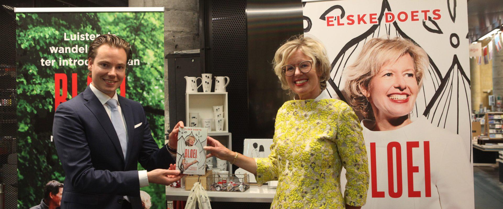 Boeklancering Bloei van Elske Doets in Maastricht